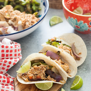 Crock Pot Chicken Fajitas Recipe {Paleo, Gluten-Free, Clean Eating, Dairy-Free, Whole30}.