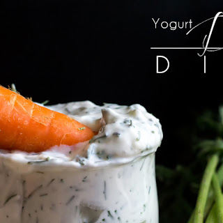 Yogurt Dill Dip.