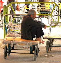 Photo: Day 136 -  Having a Rest on a Hand Cart