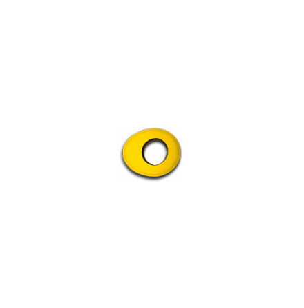 Oval Large - Yellow Fleece - Bluestar