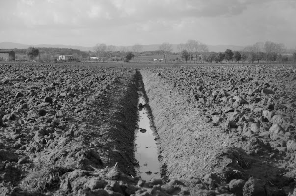 Il campo arato di garmassi