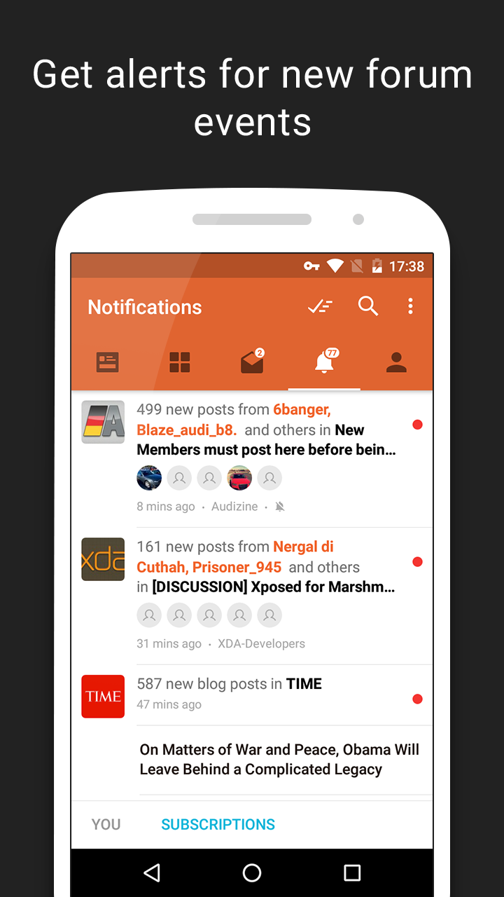 Tapatalk - 100,000+ Forums Screenshot 3