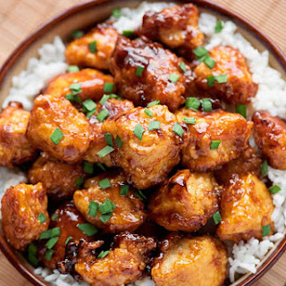 Baked Sweet and Sour Chicken.