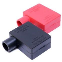 Batterikabelskoskydd röd