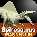 Spinosaurus Mannequin icon