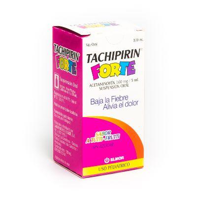 Acetaminofen Tachipirin Forte 160 Mg/5 Ml Suspensión X 120 Ml Elmor 160 mg/5 mL Suspension x 120 mL