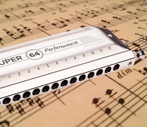 Learn harmonica. Harmonica 24 double cells  screenshots 8