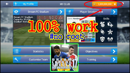Instant Rewards Dream League Soccer - náhled