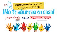 COVID-19. Concurso de Dibujo y Manualidades de Pequealmeria, La Voz de Almería y La Ser.