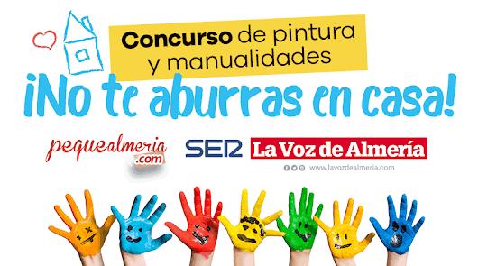 A jugar con Pequealmeria y La Voz, porque tu dibujo o manualidad¡ tiene premio!