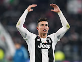 Diego Godin fustige la célébration de Ronaldo lors de la confrontation Juventus-Atletico en en huitième de finale de la C1