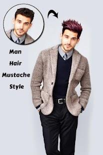 Man Hair Mustache Style PRO - náhled