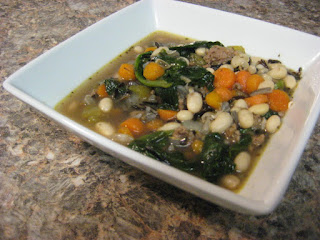 White Bean & Spinach Soup Recipe