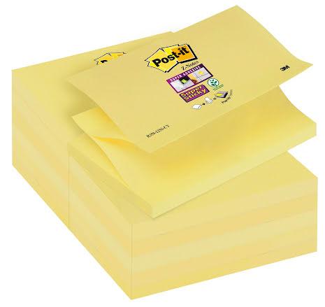 Post-it Z-block 127x76 gul12/f