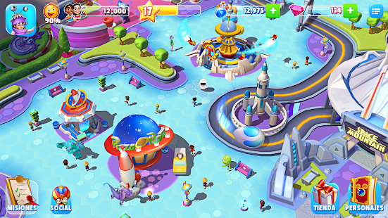Disney Magic Kingdoms: miniatura de captura de pantalla