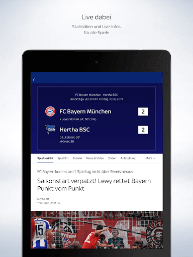 Sky Sport screenshot 9