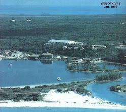 Photo: WB9OTX/VP5 DXing from Provo Island 1989