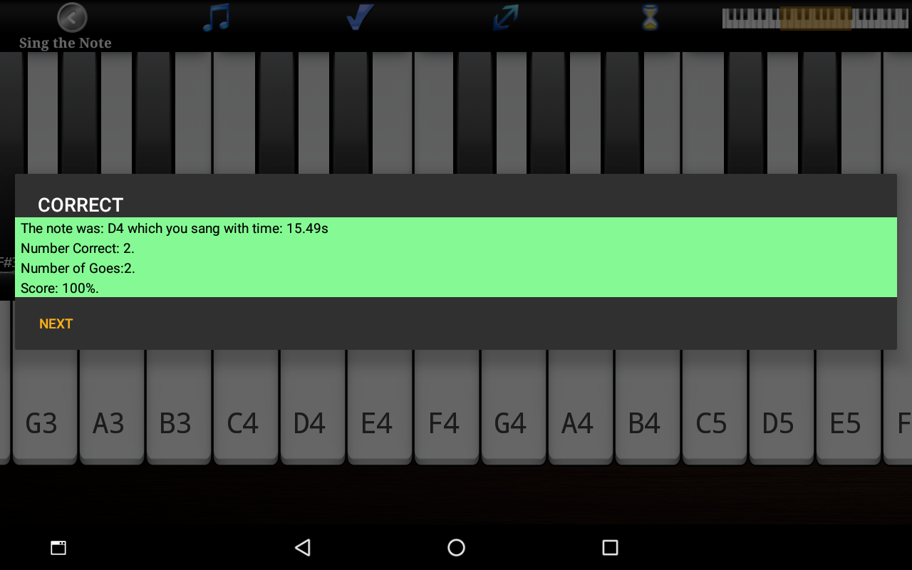 Voice Training  Learn To Sing Screenshot