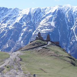 Cminda Sameba, Georgie by Luboš Zámiš - Buildings & Architecture Places of Worship