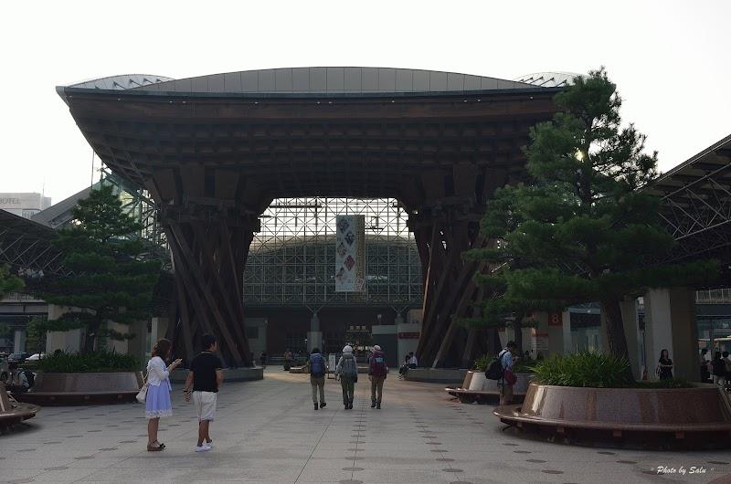 日本 JR金澤站 鼓門
