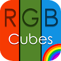 RGB Cubes: Paint Fast icon