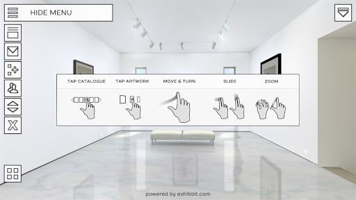 Exhibbit 3d virtual art gallery screenshot 24