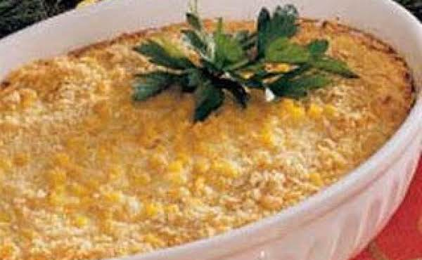 Scalloped Corn And Ham Casserole Recipe