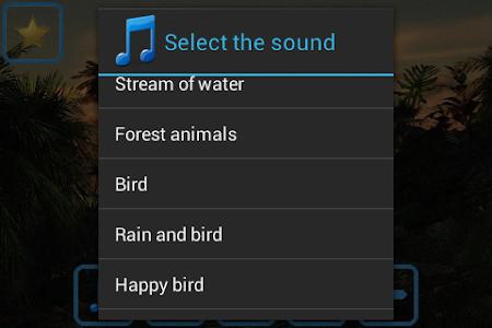 Nature sounds relax & sleep 1.2 screenshot 227184