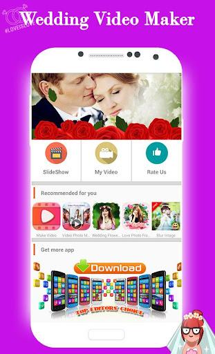 玩免費遊戲APP|下載Wedding Video Maker app不用錢|硬是要APP