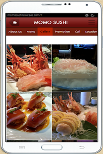 momo sushi- screenshot thumbnail