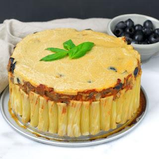 Vegan Pasta Pie