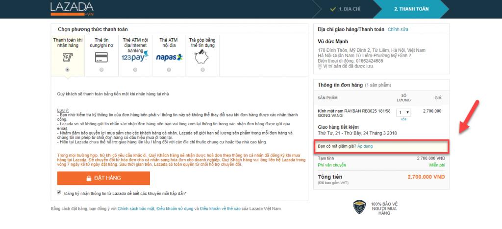 C:\Users\Admin\Desktop\Project PBN\Mã Giảm giá Lazada\8.4- 10b mã giảm giá\Cách nhập mã giảm giá Lazada từng bước nhanh nhất1.png