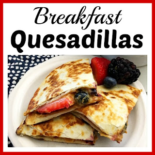 Quick and Healthy Breakfast Quesadillas Recipe