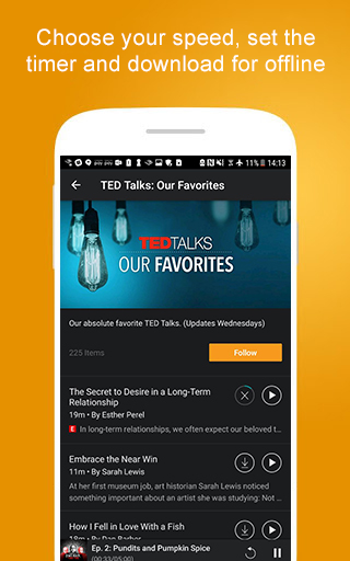 Screenshot 4 for Audible's Android app'
