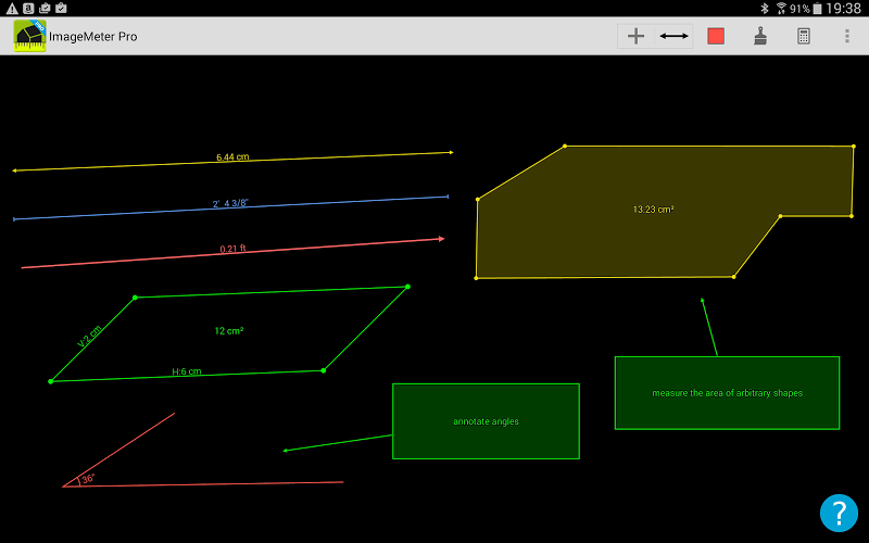 ImageMeter - photo measure Screenshot 7