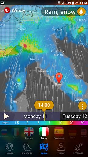 WEATHER NOW Premium US Forecast, 3D Earth & Widget  screenshots 6
