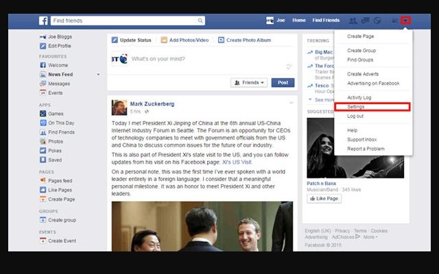Hide Facebook Junk