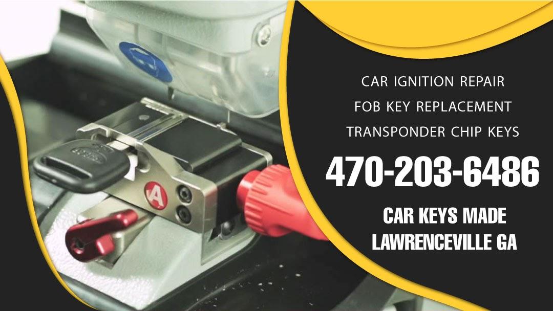 Car Keys Made Lawrenceville GA - 24 hour key replacement