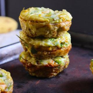 Sweet Potato Quiche Muffins.