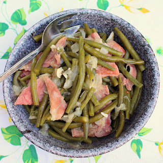 Country Style Green beans with Ham