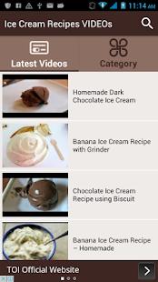 Ice cream recipes videos apps on google play screenshot image ccuart Choice Image