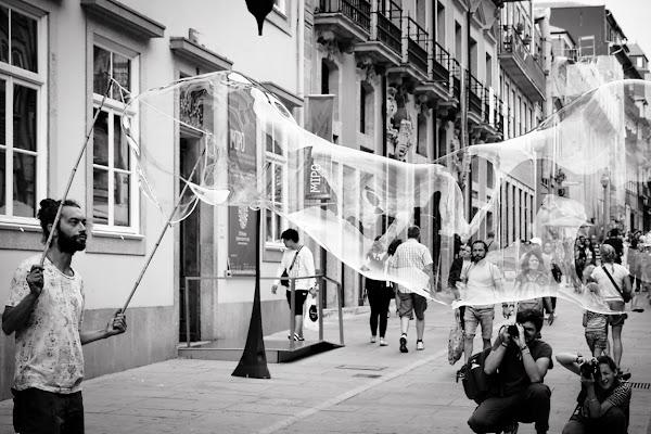 L'artista di strada.