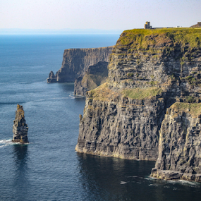 Cliffs of Moher by Michael Lunn - Landscapes Waterscapes ( ireland, cliffs of moher,  )