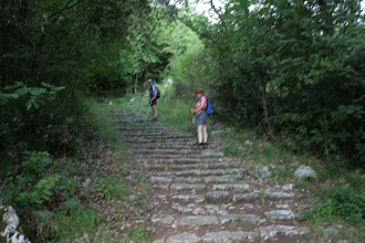 Photo: Potem pa stopnice