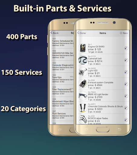 ARI (Auto Repair Invoices) 5.0.3 screenshots 2