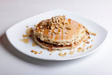 Walnut Protein Pancakes