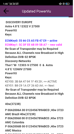 All Channels PowerVU Keys by TeamIS Solution (Google Play, United
