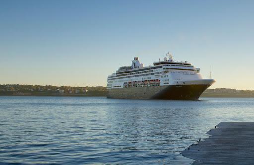 veendam-in-halifax.jpg - Holland America's Veendam moored in Halifax, Nova Scotia.