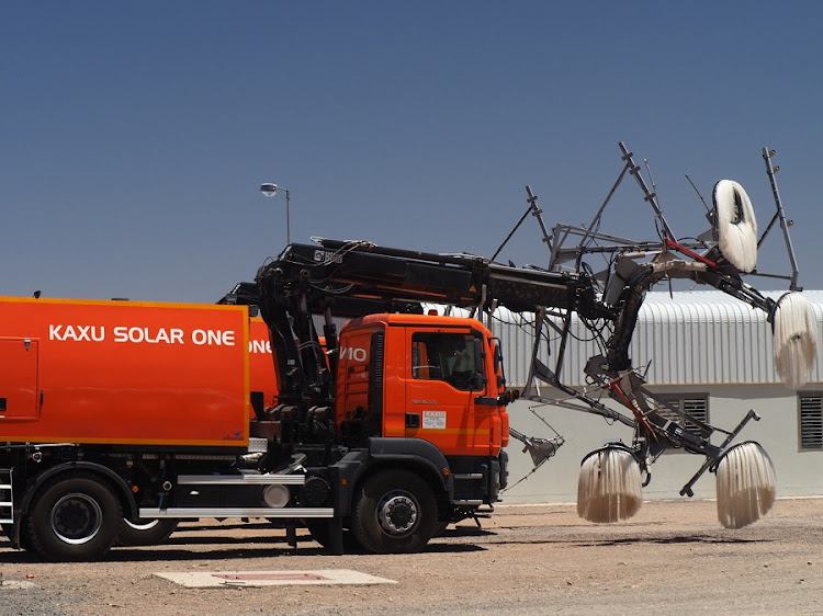 The KaXu Solar One concentrated solar power project. Picture: SUPPLIED