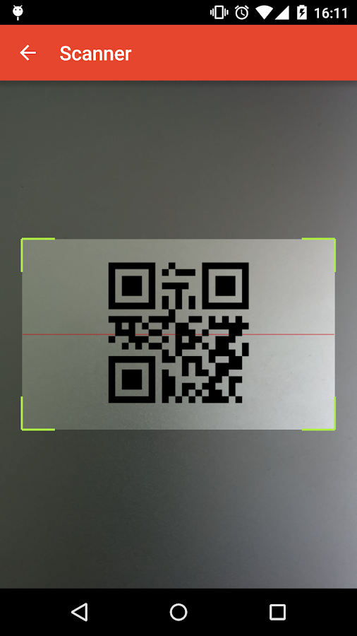 Barcodr Lite - Wifi QR scanner- screenshot